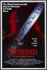 Постер к фильму «Техасская резня бензопилой 3: Кожаное лицо»