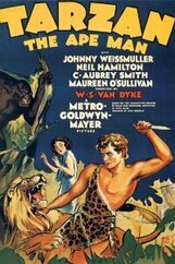 Постер к фильму «Тарзан, человек-обезьяна»
