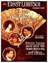 Постер к фильму «Веер леди Уиндермир»