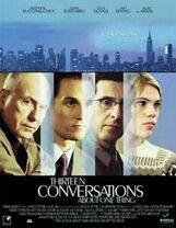 Постер к фильму «Тринадцать разговоров об одном и том же»