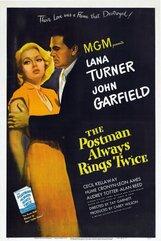 Постер к фильму «Почтальон всегда звонит дважды»