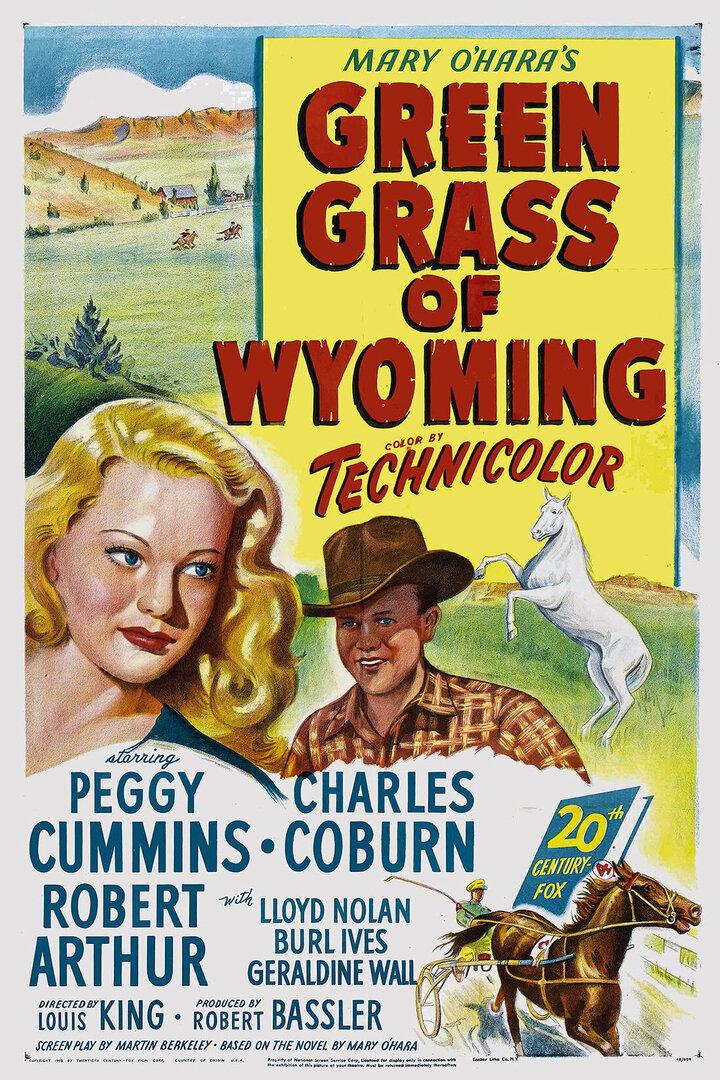 Зеленая трава Вайоминга