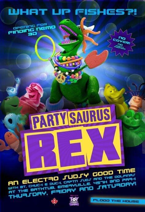 Веселозавр Рекс 3D