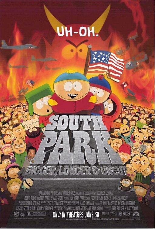 Южный Парк: больше, длиннее и без купюр