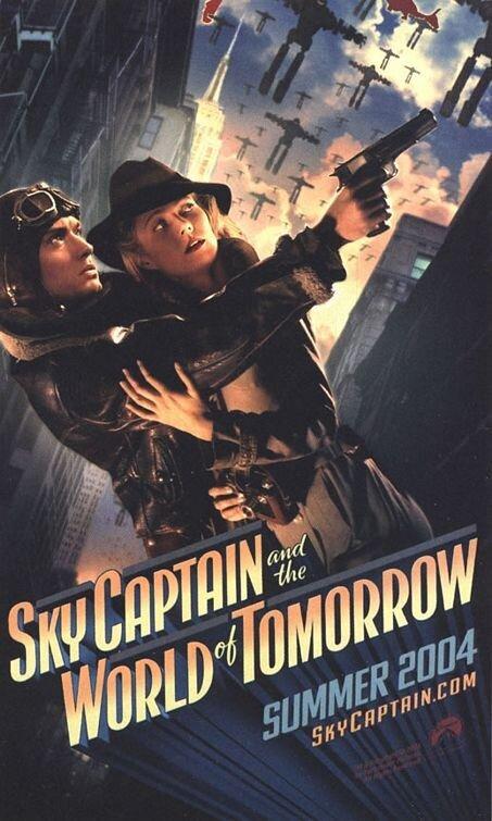 Небесный капитан или Мир будущего