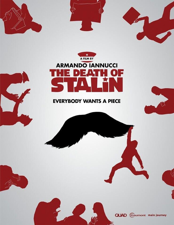 В России отменили прокат фильма «Смерть Сталина»