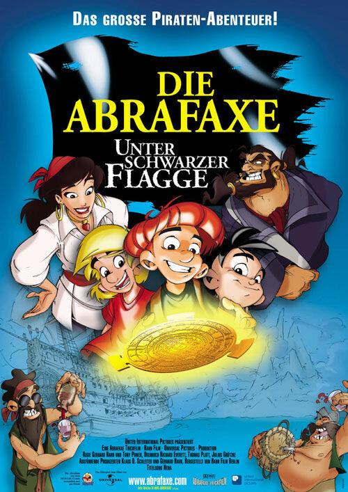 Абрафакс под пиратским флагом