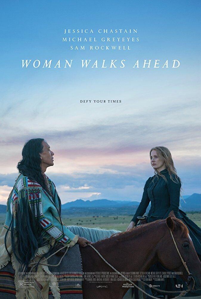 Женщина ходит первой