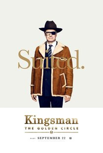 Постер к фильму Kingsman: Золотое кольцо
