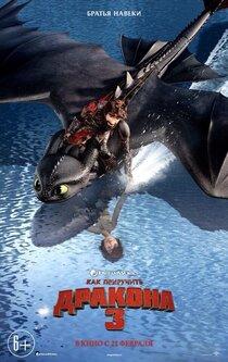 Постер к фильму Как приручить дракона 3