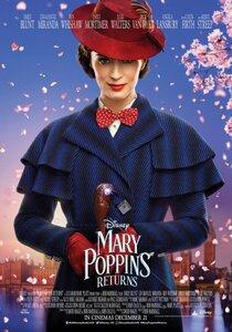 Постер к фильму Мэри Поппинс возвращается