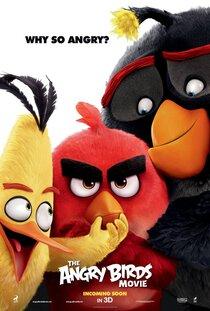 Постер к фильму Angry Birds в кино