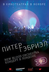 Постер к фильму Питер Гэбриэл и New Blood Orchestra в 3D