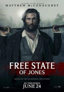 Постер к фильму Свободный штат Джонса