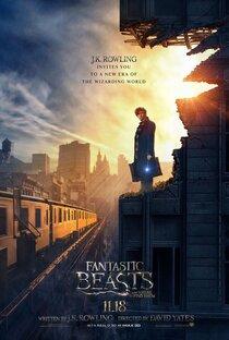 Постер к фильму Фантастические твари и где они обитают