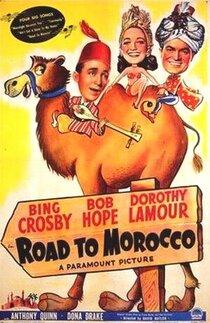 Постер к фильму Дорога в Марокко