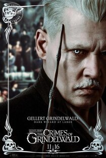 Постер к фильму Фантастические твари: Преступления Грин-де-Вальда