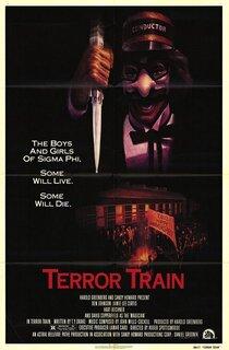 Постер к фильму Поезд страха