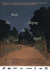 Постер к фильму Птицы поют в Кигали
