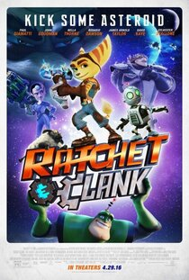 Постер к фильму Рэтчет и Кланк: Галактические рейнджеры