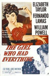 Постер к фильму Девушка, у которой было всё