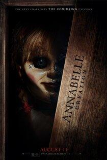 Постер к фильму Проклятие Аннабель: зарождение зла
