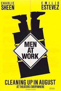 Постер к фильму Мужчины за работой