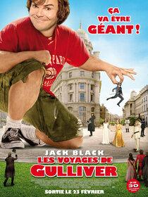 Постер к фильму Путешествия Гулливера 3D