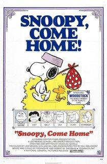 Постер к фильму Снупи, возвращайся!