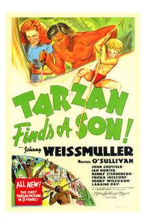 Постер к фильму Тарзан находит сына