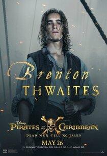 Постер к фильму Пираты Карибского моря: Мертвецы не рассказывают сказки