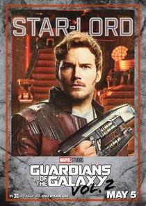 Постер к фильму Стражи Галактики. Часть 2