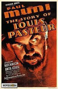 Постер к фильму Повесть о Луи Пастере