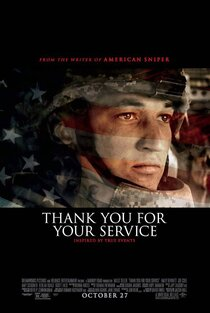 Постер к фильму «Спасибо за вашу службу»