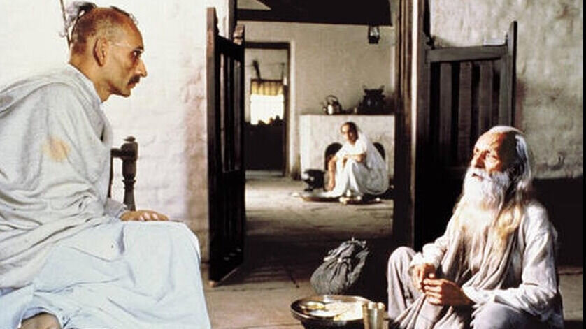 movie review of the film gandhi Gandhi the film triumphs for depicting gandhi's struggle for this cause gandhi is a fairly comprehensive look at the late 1800's and early 1900's indian political climate in watching gandhi, you will, undoubtedly, gain historical knowledge and social perspective of the time period.