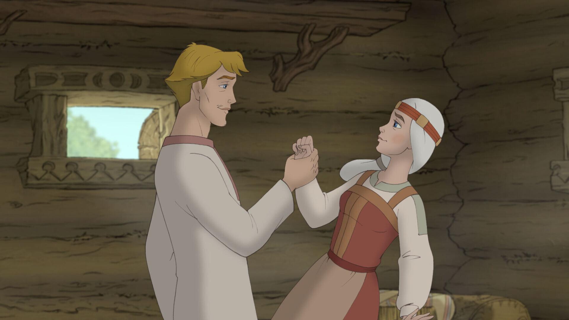 Петр и феврония картинки из мультфильма, часы кофе