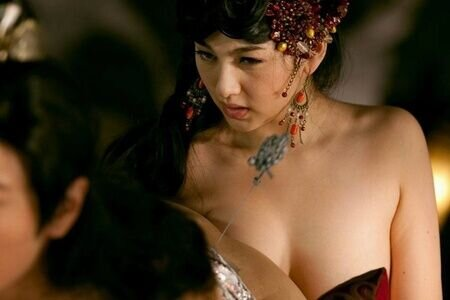Chinese erotic movie, very young drunk girls