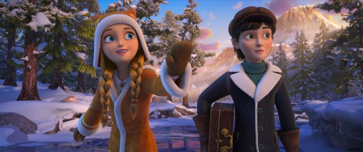 Картинка герды из снежной королевы огонь и лед