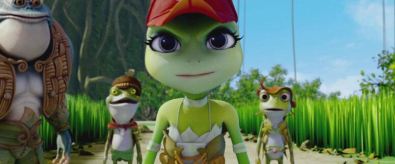 «Принцесса-лягушка: Тайна волшебной комнаты»: Рецензия Киноафиши