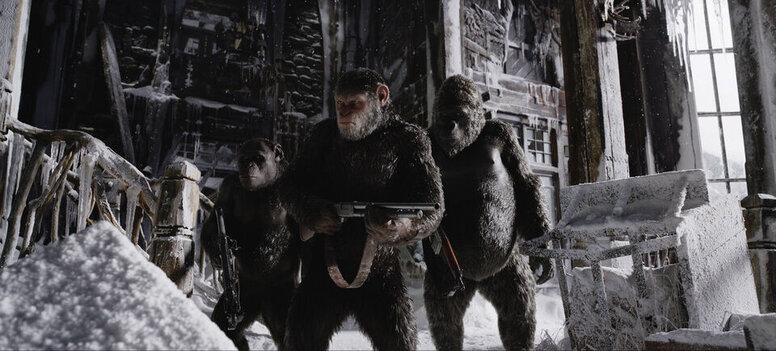«Планета обезьян: Война»: Рецензия Киноафиши