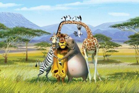 «Мадагаскар 2»: Рецензия Киноафиши