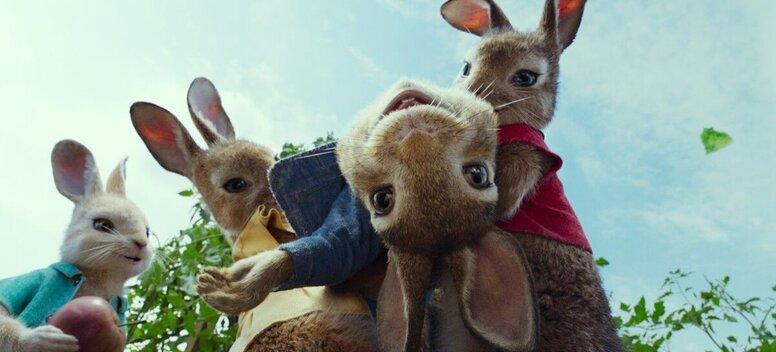 «Кролик Питер»: Рецензия Киноафиши