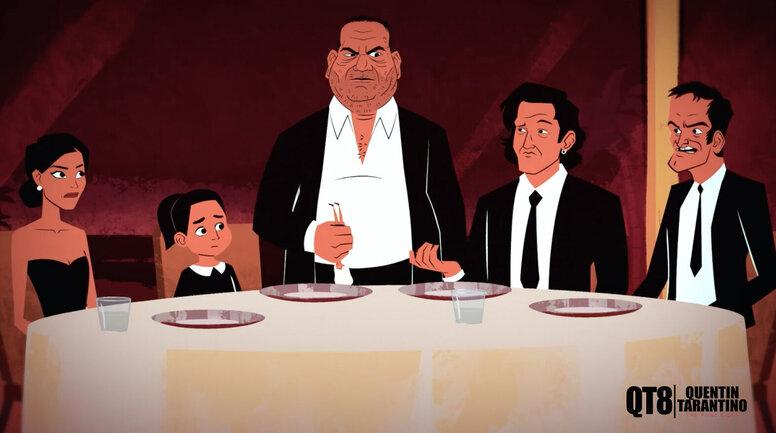 «Однажды... Тарантино»: Рецензия Киноафиши