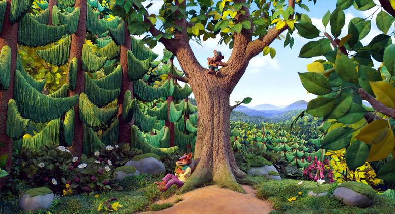 «Волшебный лес»: Рецензия Киноафиши
