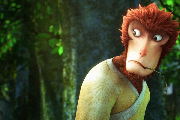 кадры и фото из фильма Король обезьян 3D