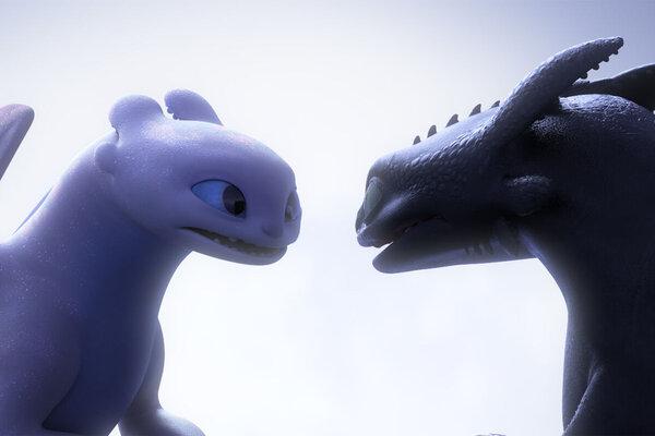 кадры и фото из фильма Как приручить дракона 3