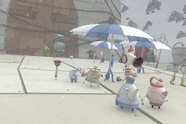 кадры и фото из фильма Храброе сердце 3D