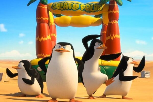 кадры и фото из фильма Пингвины Мадагаскара 3D