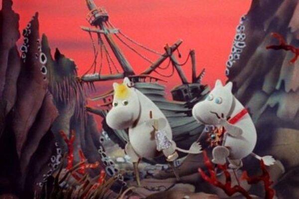 кадры и фото из фильма Муми-Тролли и Комета 3D