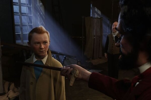 кадры и фото из фильма Приключения Тинтина: Тайна единорога 3D